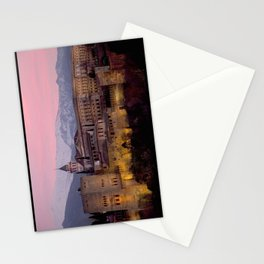 Alhambra at Sunset, Granada, Spain Stationery Cards