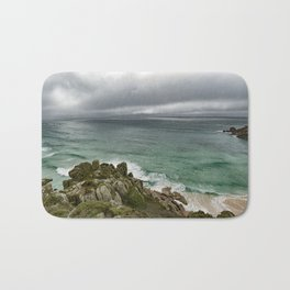 Stormy Cornish morning. Bath Mat