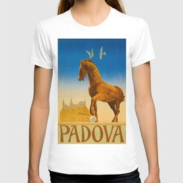 Vintage Padova or Padua Italy Travel T-shirt