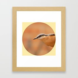 Woodland-Logo Framed Art Print