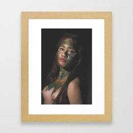 Colors of Women, D.F. Framed Art Print