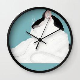 Toussaint Blue Wall Clock