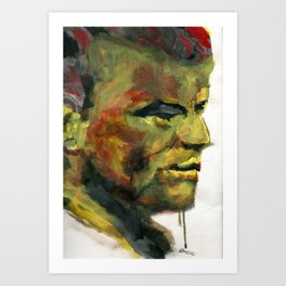 Swamp thing Art Print