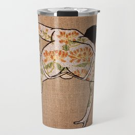 Chrysanthemum; 爆菊花 Bào júhuā Travel Mug