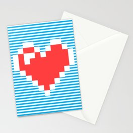 Pixel Heart, Stationery Cards