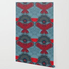 Rubino Spirit Owl Wallpaper