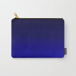 Deep Rich Sapphire Ombre Carry-All Pouch