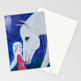 Two Spirits Communing Stationery Cards