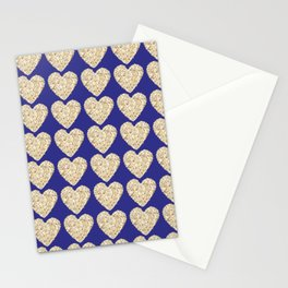 Corazón de palomitas Stationery Cards