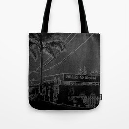 Palms Motel Tote Bag