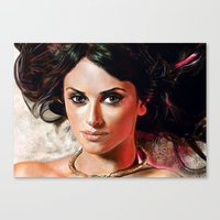 angel Canvas Prints featuring Angel by Veronica  Kokoreva