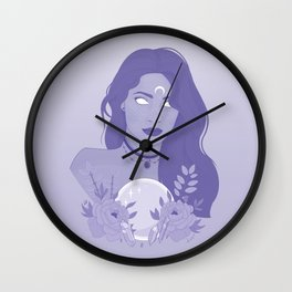 Queen Witch Wall Clock