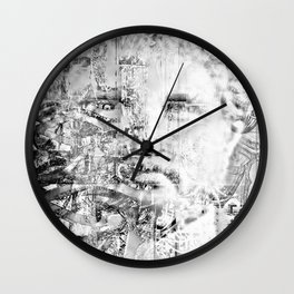 Phillip of Macedon series 8 Wall Clock