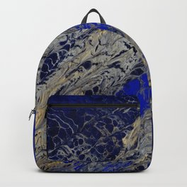 Blue Cracks Backpack