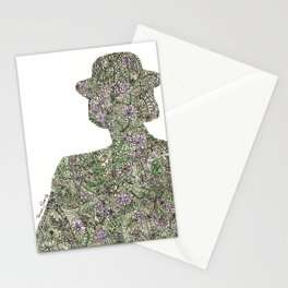 Shadow for Wildflowers Stationery Cards