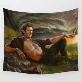Ian Malcolm: From Chaos Wall Tapestry