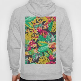 Big, Bold and Beautiful Tropical Floral Hoody