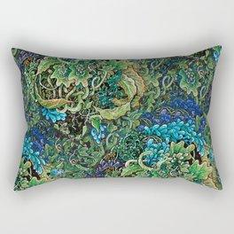 Immersive Pattern Rectangular Pillow