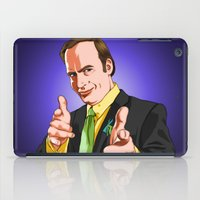 better call saul iPad Cases featuring Better Call Saul by Ryan Ketley
