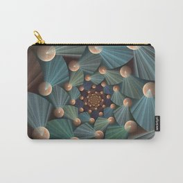 Graphic Design, Modern Fractal Art Pattern Carry-All Pouch