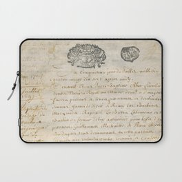 French Contract 1697 Laptop Sleeve