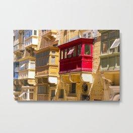 Malta Valletta Photography Metal Print