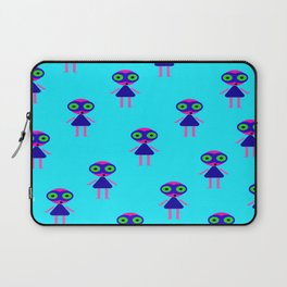 Jessie Martian (blue) Laptop Sleeve