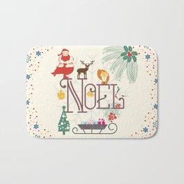 Christmas Noel Bath Mat