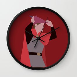 Prince Philip Wall Clock