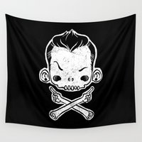 rebel Wall Tapestries featuring Rebel by saimen