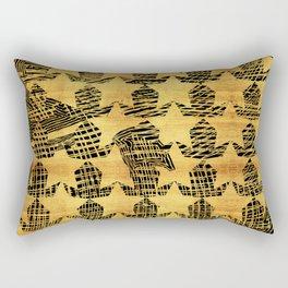 shiny old stars Rectangular Pillow