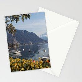 Swiss Riviera Lakeside IV Stationery Cards