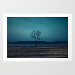 """""""TO COLD SPRING"""" Art Print"""