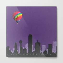 dallas coldplay Metal Print