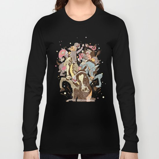 The Great Horse Race! Long Sleeve T-shirt