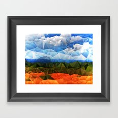 Southern Red Clay Framed Art Print