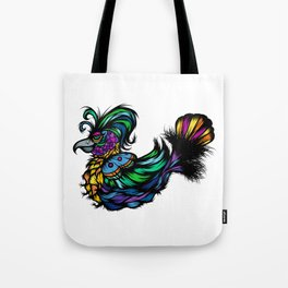 Flamboyant Bird Tote Bag