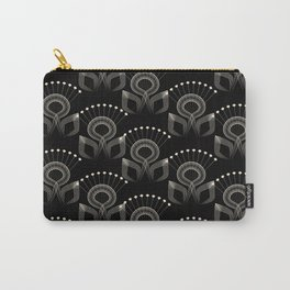 Art Deco 34 . The bird's tail . Carry-All Pouch
