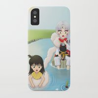 inuyasha iPhone & iPod Cases featuring Inuyasha:  Summer by Kerstie Milana
