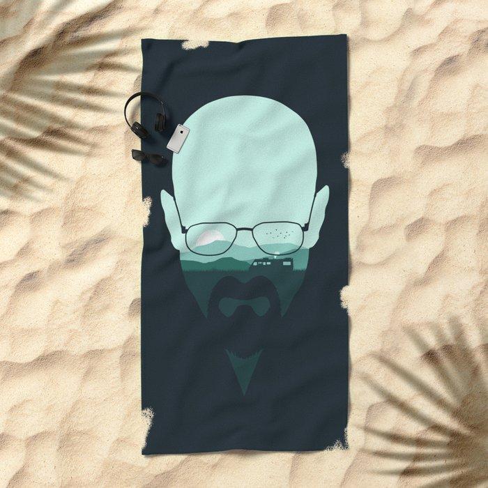 Heisenberg Beach Towel