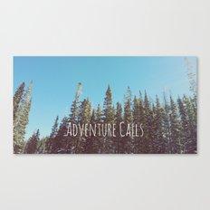 Adventure Calls Canvas Print