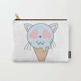 Kitty Ice Cream Carry-All Pouch