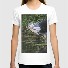 Heron Take-off T-shirt