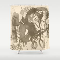 composition 5 Shower Curtain