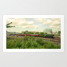 Flying Scotsman at Bristol Temple Meads Art Print