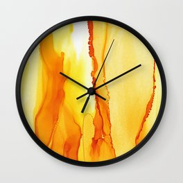 Dance With Me - Gold 2016 Wall Clock