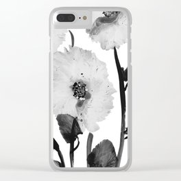Flowers -a103 Clear iPhone Case