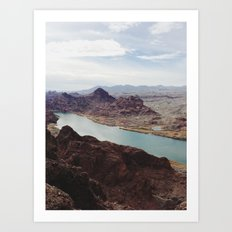 The Colorado River Art Print