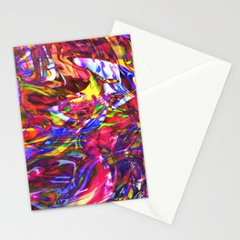 Fluid Painting  Stationery Cards