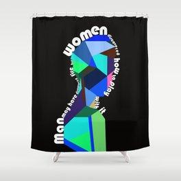 Man & Woman 3 Shower Curtain
